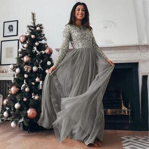 Image 3 - High Quality Elegant Muslim Evening Maxi Dress Cape Slim Muslim Party Dresses