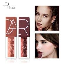 Pudaier Lips Beauty Waterproof Lip Gloss 5 Colors Women Sexy Cosmetics Matte Lipgloss Nude Makeup Liquid Lipstick Lip MakeUp Set цена в Москве и Питере