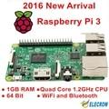 Elecrow Raspberry Pi 3 Modelo B 1 GB RAM Quad Core 1.2 GHz $ number bits de la CPU WiFi y Bluetooth de Tercera Generación Raspberry Pi Envío Gratis