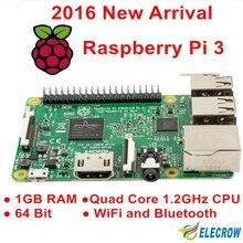 Elecrow Raspberry Pi 3 Model B 1GB RAM Quad Core 1.2GHz 64bit CPU WiFi & Bluetooth Third Generation Raspberry Pi Free Shipping