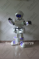 hot sale LED robot mascot costume robot onesies for adults