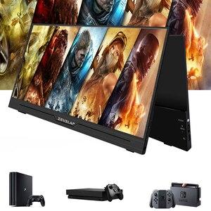 Image 5 - Zeubang moniteur IPS LED Portable de 15.6 pouces 1920x1080 px HD avec boîtier magnétique pour PS4, Xbox, téléphone et Macbook