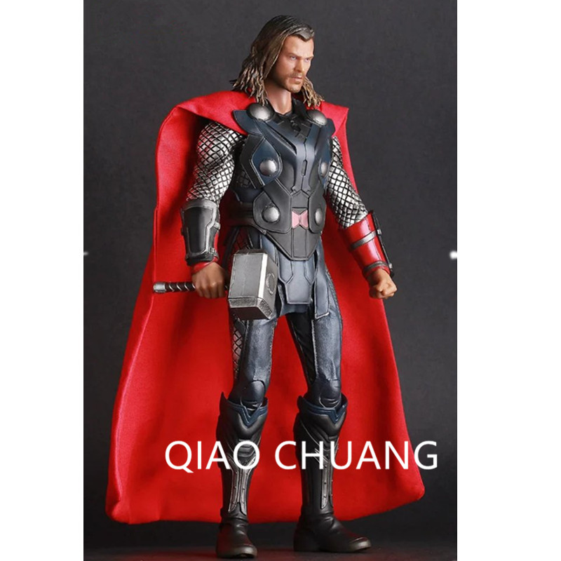 The Avengers Norse Mythology Aboutsledge Superhero Thor Chris Hemsworth PVC Action Figure Collectible Model Toy 30CM G11 hot toy 16cm avengers 2 thor loki villain heros action figure collectible pvc model toy movable joints doll for kids gifts