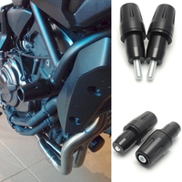 KEMiMOTO For YAMAHA MT 07 MT07 Engine Frame Sliders Falling Protection Cover Guard Crash Pad MT 07 FZ 07 2014 2016 2017 XSR 700