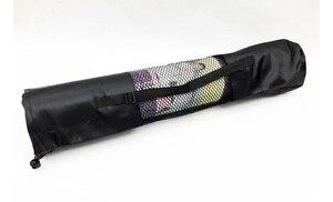 Image 5 - 183*61cm 6mm עבה כפול צבע החלקה TPE מזרן יוגה איכות תרגיל ספורט Mat כושר חדר כושר בית חסר טעם כרית