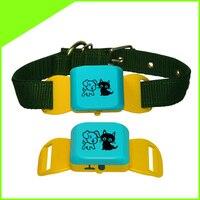 Mini GPS Pet dot cat Tracker localizzatore gps pet collare tracker CCTR-623 Impermeabile GPS + LBS individuare, Facile blocco sbloccare, Nessuna Scatola