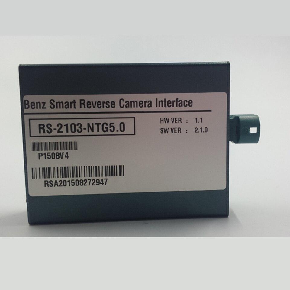 التوصيل والتشغيل وصلة كاميرا الرؤية الخلفية للسيارة لمرسيدس GLC 2019 مع إرشادات وقوف السيارات باركترونيك الصوت 20