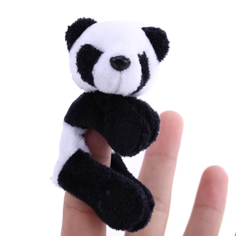 1 шт. Милые Плюшевые Panda животных магнит на холодильник Стикеры детей подарки на день рождения дома Кухня Decroration украшения