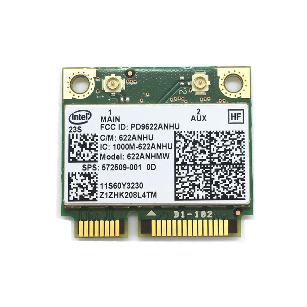 Wifi Card 300Mbps Intel 6200 622ANHMW 572509-001 60Y3231 T410 T410i T510 T510i W510 T410s X201 X201i X201s