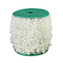Roll 75M Plastic Beads Clear Ab 3mm Seed Bead Roll For Lampwork Curtain Decoration Material Manualidades Diy Craft(China)