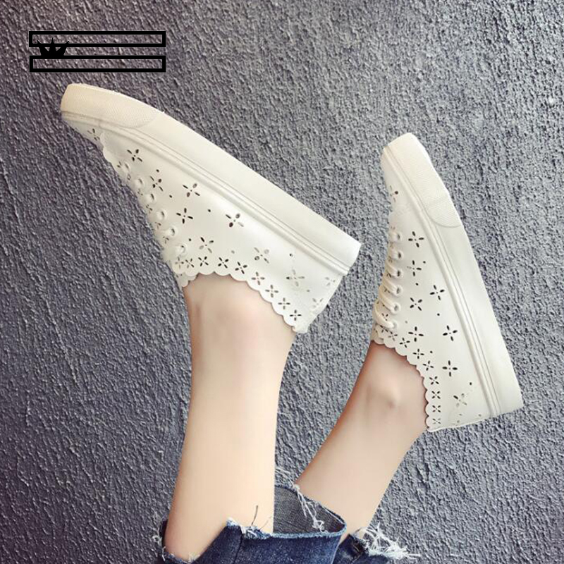 SHUANGGUN Flat Shoes Women Flats Ladies Dress Shoes Sneakers White Loafers Slip on Casual Shoe Womens Shoes Casual Dress #7080