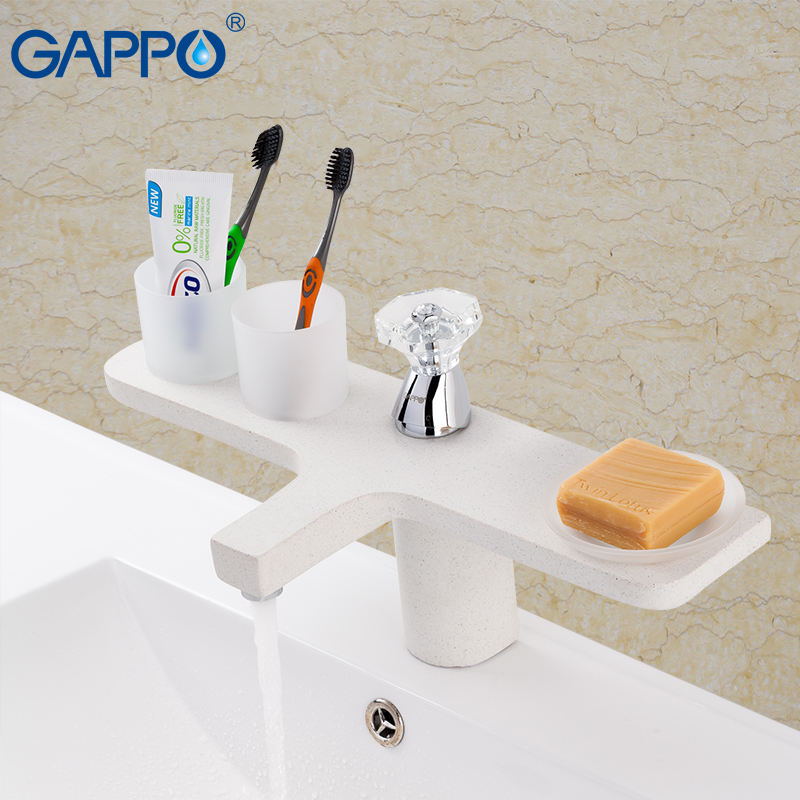 GAPPO Basin faucet basin water sink tap bathroom faucet brass water taps deck mount faucet basin sink mixer gappo water tap bathroom deck mount basin sink faucet torneira cold hot water mixer tap grifo bathroom faucet in hand shower set