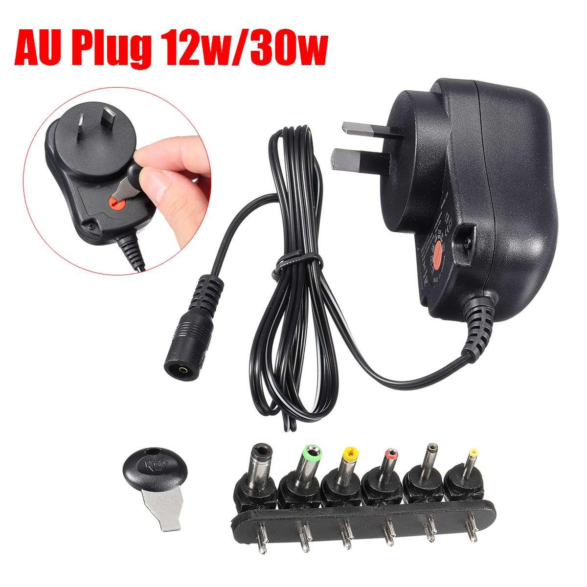 12W US plug AC//DC Universal power adapter 3V//4.5V//5V//6V//7.5V//9V//12V 1A supply