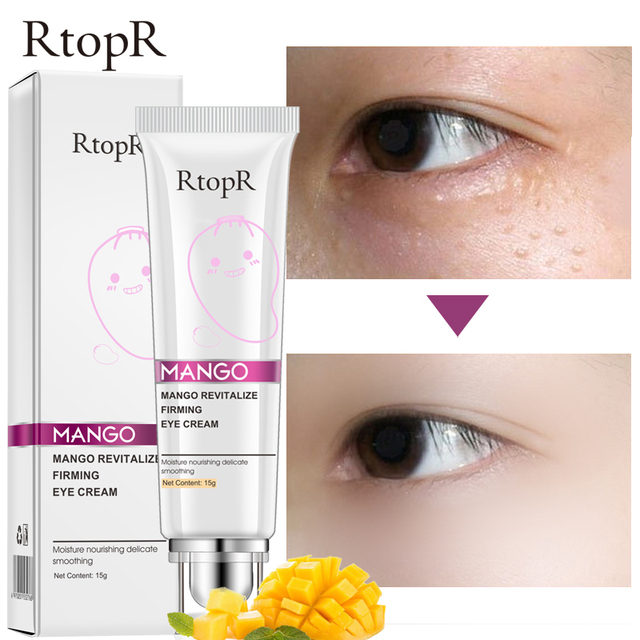 Mango Anti Winkles Eye Cream Skin Care Anti-Puffiness Dark Circle Anti-Aging Moisturizing Eyes Creams Firming Facial Eye Skin 2