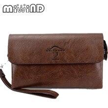 MIWIND Mode-Design pu Leder herren Geldbörse für Männer Lange Brieftasche Continental Stil männer Handtasche