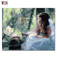Wall Decor Decorative Pictures Paintings 40x50cm Abstract Oil Painting Diy Art Canvas For Bedroom Frameless