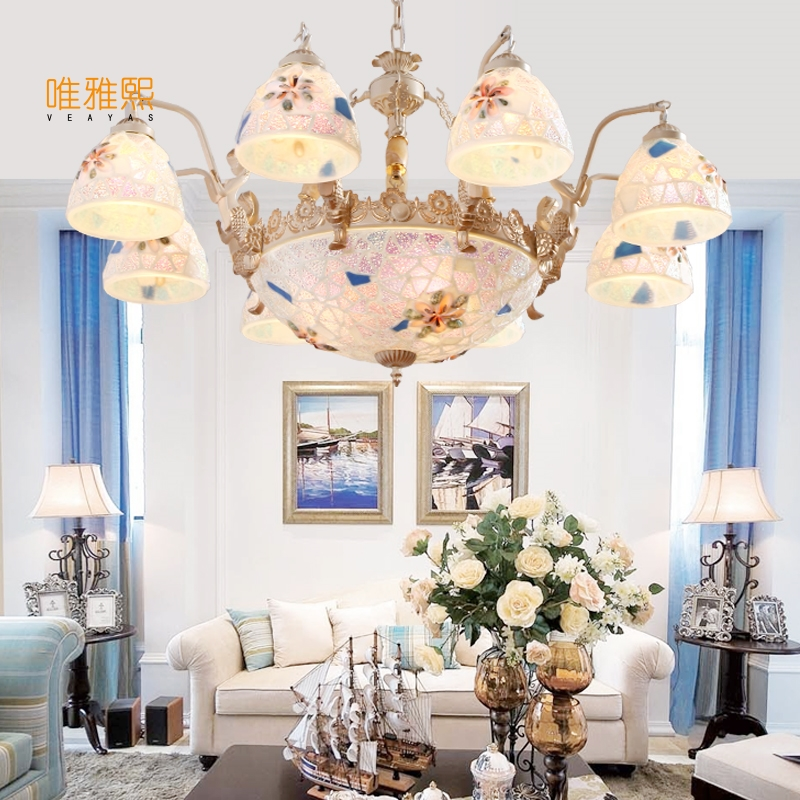 luces de navidad led lamp glass lampshade chandelier iron modern chandeliers indoor lighting fixture chandelier