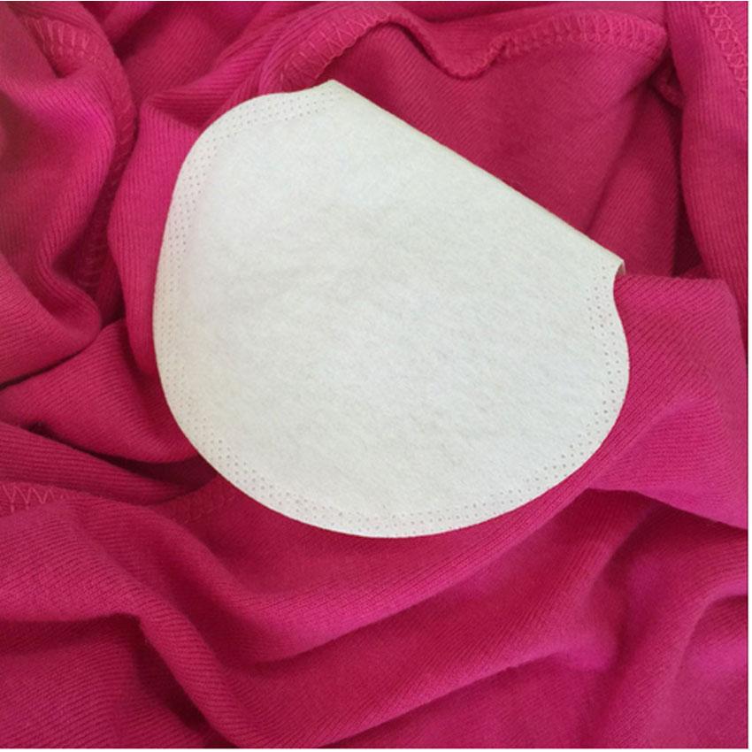 200 Pcs=100 Pairs Unisex Women Men Disposable Underarm Armpit Sweat Pads Absorbing Anti Perspiration Pads