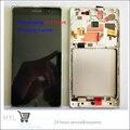 В Наличии!! 100% Оригинал ЖК-Дисплей Сенсорный Экран Digitizer Стекло с Рамкой Для Nokia Lumia 830 N830 Черный/Серебристый Тест ок + Трек