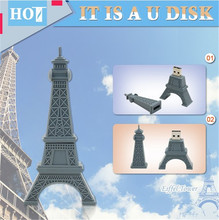 Pendrive16gb usb-stick 4 gb grau Paris Tour Eiffel 8 gb 32 gb 64 gb usb-sticks memory Eiffelturm usb-flash-speicher