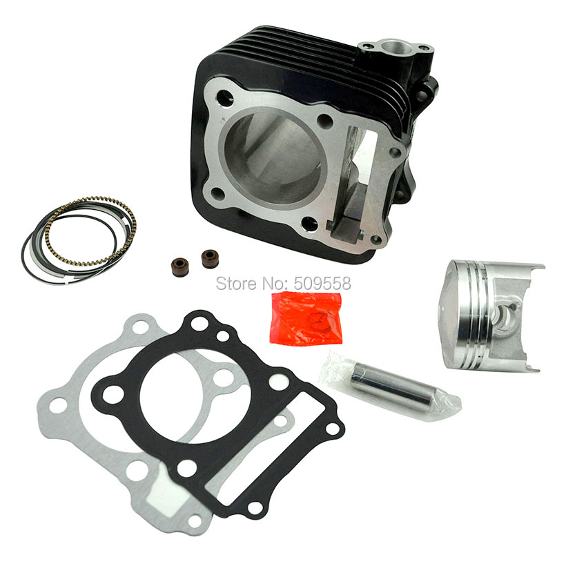купить LOPOR 62mm Cylinder KIT & Piston Set & Gasket All Sets For Suzuki GS150 150CC GS 150 Motorcycle Air-Cooled NEW по цене 3671.19 рублей