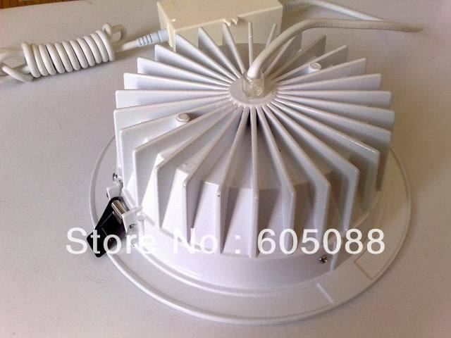 8 24w aluminium recessed down lighting with external driver AC100-240v color white 2373lm 10pcs/lot 2018 Christmas wholesale8 24w aluminium recessed down lighting with external driver AC100-240v color white 2373lm 10pcs/lot 2018 Christmas wholesale