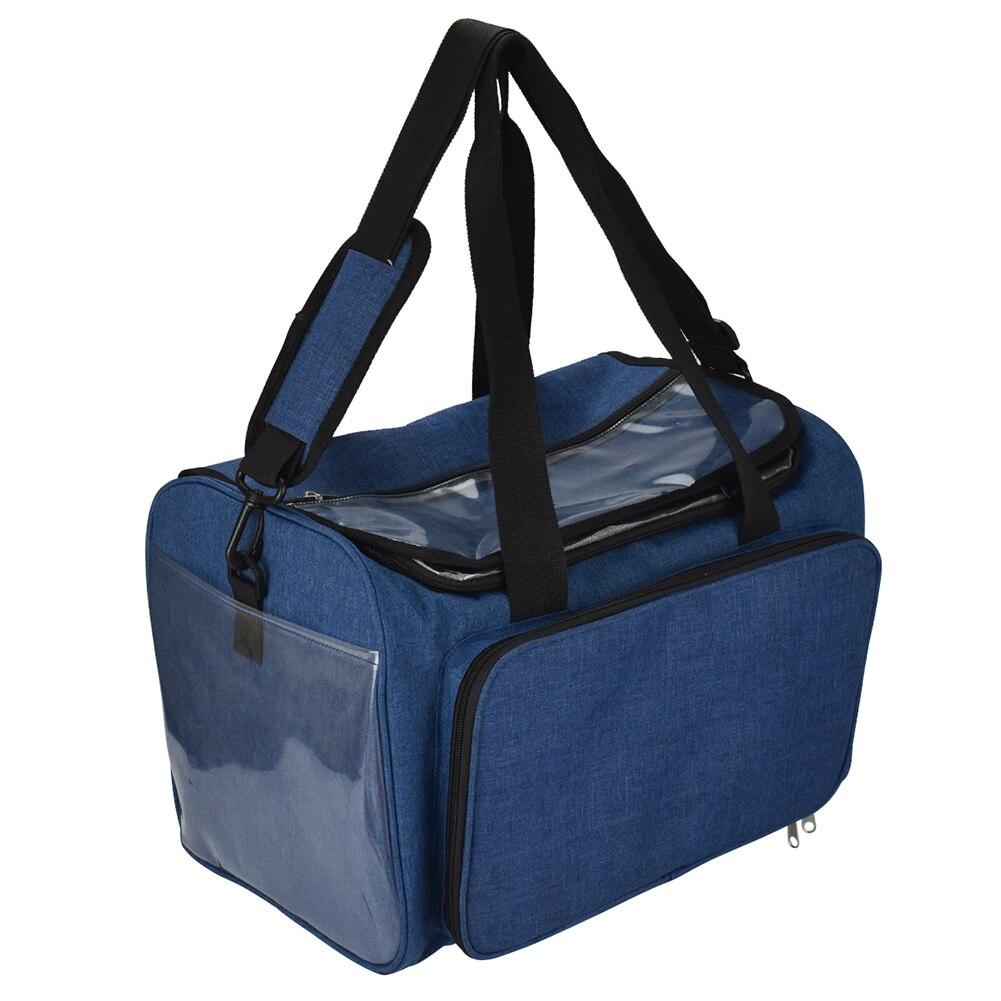 DIY Knitting Tote Bag Big Capacity Yarn Storage Bag For Thread Wool Crochet Hook Sewing Kit Organizer Bag For Mom Travel Gift