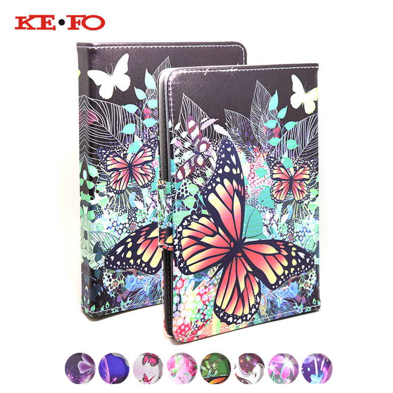 KeFo For Irbis HIT 8Gb (TZ49) Tablet Case 7 inch Universele Printed Leather Cover For Irbis TZ747 tablet Accessories+3gifts