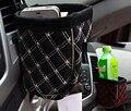AUTOSON Car Styling Car Automotive Storage Net Pocket Organizador Del Bolso Para El Teléfono Móvil Del Coche Bolsas de Supermercado Coche Tobera Accesorios
