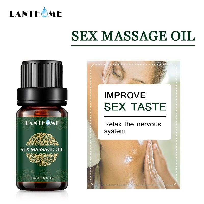 10ml czyste roślinne olejki eteryczne olejek do masażu ciała Relax nerwowy wzbudnica kobieta Libido Enhancer orgazm płyn mężczyzna kobieta AM 65