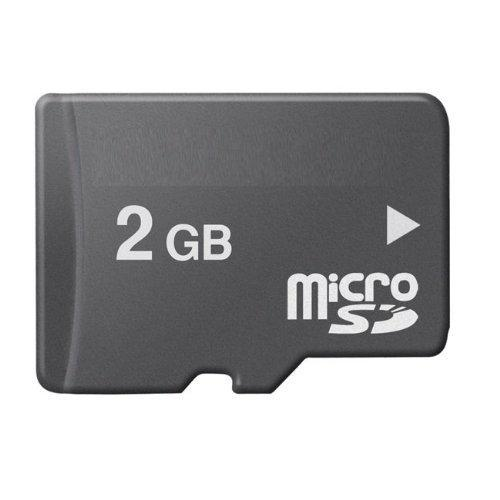 BEESCLOVER 1pc Micro SD Card 2GB Class10 Flash Memory Card MicroSD TF Card 2 gb micro sd card r60 1