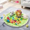 150cm Storage Bag Play Mats Portable Kids Toy Storage Bag Indoor Organizer Home Outdoor Play Mat Child Toy Summer Birthday Gift