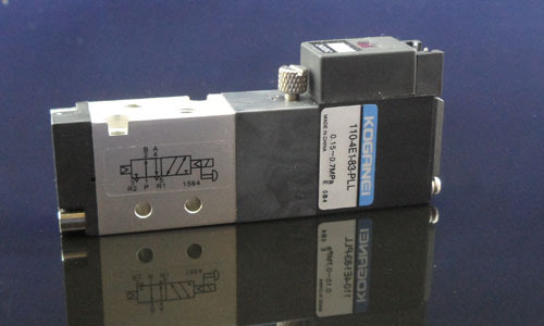 2 Way 5 Port pilot solenoid valve 110 4E1 83 PLL Pneumatic valve