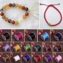 0.8mm Nylon cord thread string for beading trimming sewing j