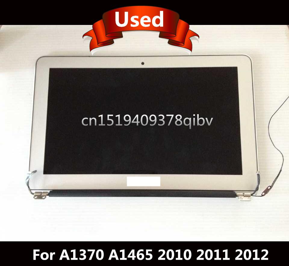 """Prix pour Testé Écran D'ordinateur Portable Pour Macbook Air 11 """"A1370 A1465 LCD LED Assemblée D'écran 2010 2011 2012 100% de Travail"""