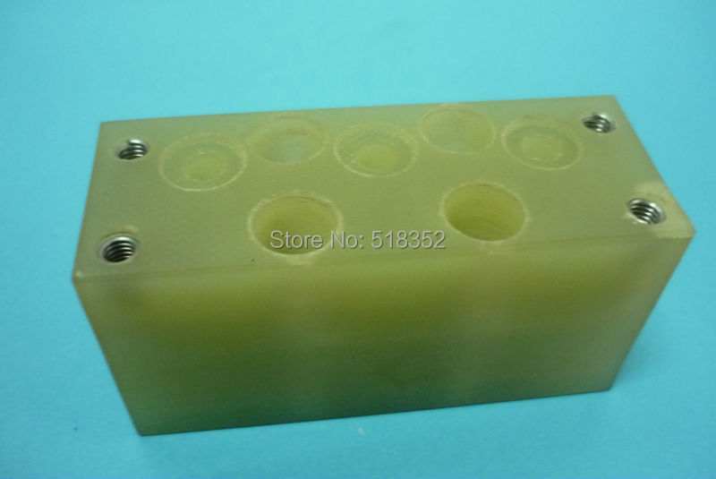 A290-8110-X600 F317 Fanuc Insulation Board, Upper Isolation Plate for DWC-iA,iB (AWF) WEDM-LS Wire Cutting Machine Part a290 8110 x715 16 17 fanuc f113 diamond wire guide d 0 205 255 305mm for dwc a b c ia ib ic awt wedm ls machine spare parts