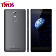 Original Leagoo T1 Teléfono Móvil 5.0 Pulgadas Android 6.0 MT6737 Quad núcleo 1280×720 2G RAM 16G ROM 13MP 2400 mAh Huella Digital 4G LTE