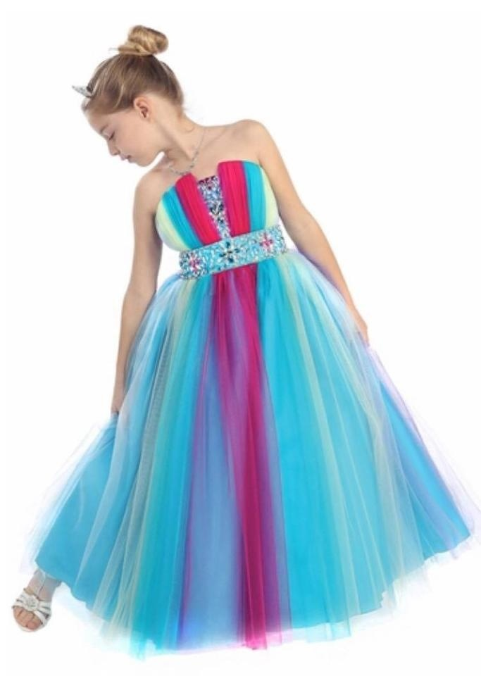 Popular Kids Strapless Dresses for Little Girls-Buy Cheap Kids ...