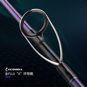 Image 3 - ECOODA tige pour Jigging Monster, en carbone, pour bateau EMJ, 1.55m/1.6m/1.68m, avec pièces Fuji complètes, Section unique