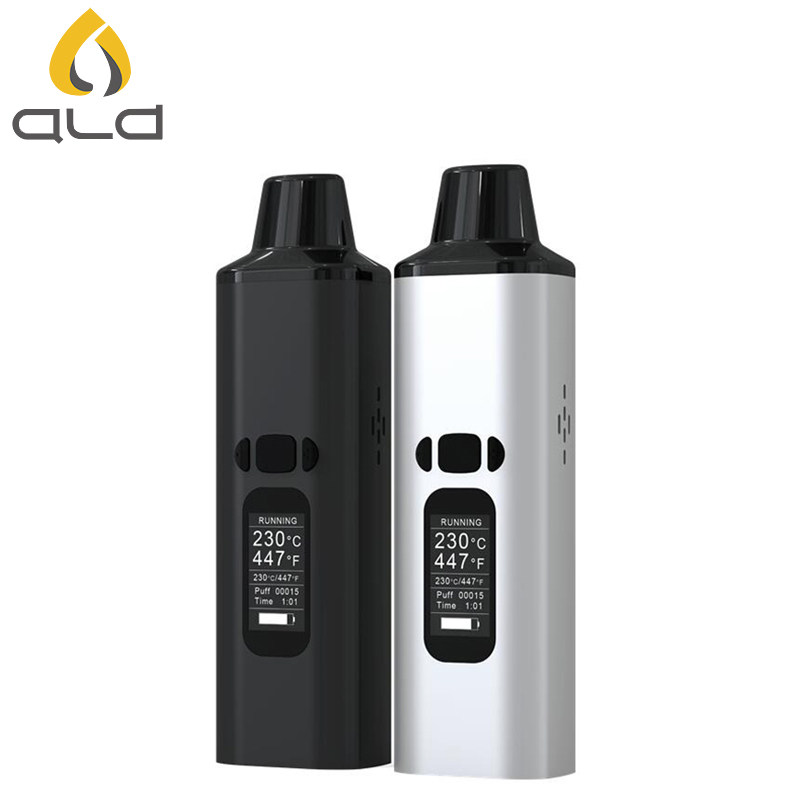 ALD AMAZE Dry Herb Vaporizer Kit Humo Herbal Electronic Cigarette - Cigarrillos electrónicos