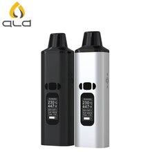 ALD AMAZE Dry Herb Vaporizer Kit Smoke Herbal Electronic Cigarette Portable Vape Pen med 1800mAh batteri för riktig tobak