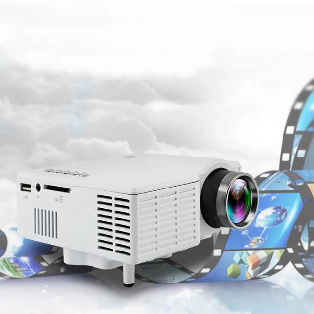 Hot UC28 LED Digital Video Game Projector Theater Home Multimedia Player Input AV VGA USB SD HDMI Data Show Mini Proyector mini portable multimedia player dvd player home theater projector led proyector