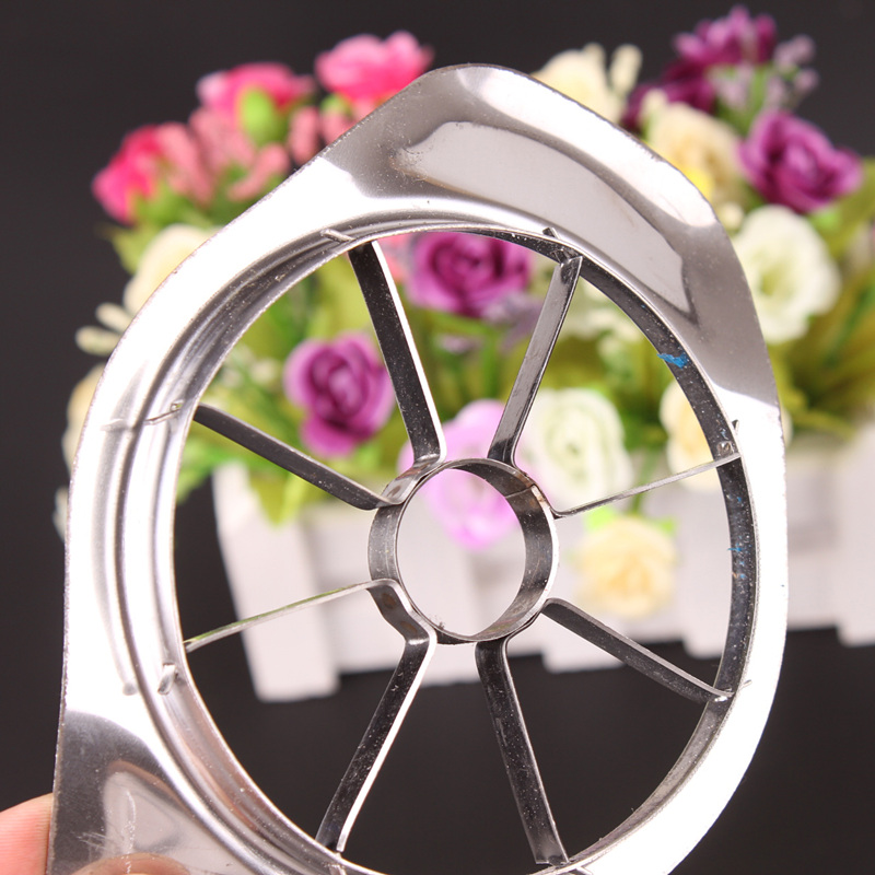 Apple slicer Corer tool cut Fruit Vegetable Tools Stainless steel apple cut 15*11*1.5cm Easy Cutting Apples Kitchen Accessories