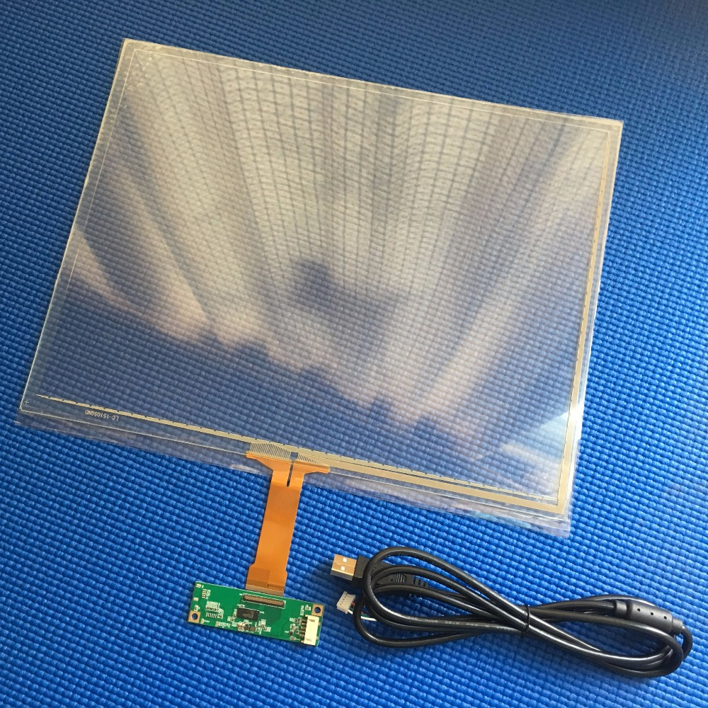 12 Inch Capacitive Touch Screen Panel Kit USB Multi Touch Screen Overlay Kit zhiyusun 12 1 inch touch screen 5 wire resistive usb touch panel overlay kit touch screen elo scn at flt 12 1 rad oh1
