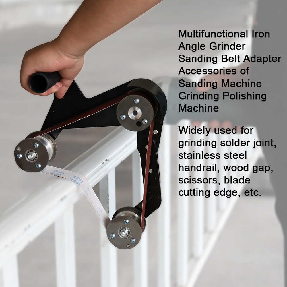 المهنية متعددة الوظائف الحديد زاوية طاحونة حزام رملي محول الملحقات من آلة الرملي ماكينة الفرم والصقل