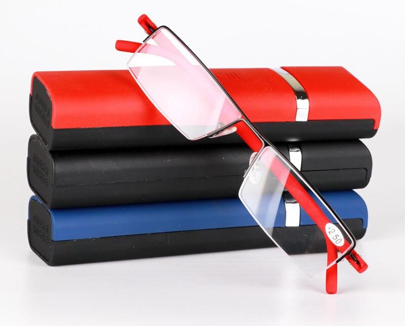 2017 Neue Hochwertige Tr90 Tendy Deutschland Importiert Rahmen Die Eldly Lesebrille Presbyopie Brille Boxen Enthalten