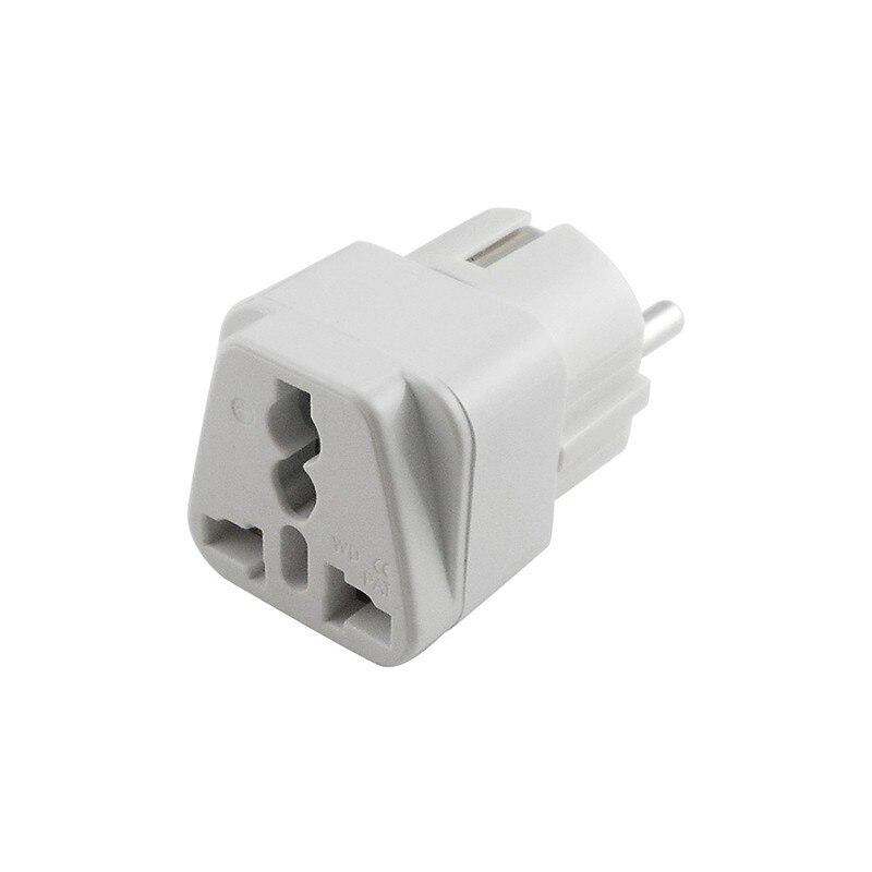 2018 New High Quality Germany France Korea Travel Adapter Power Plug Convert UK US AU EU World Plug Drop Shipping in International Plug Adaptor from Consumer Electronics