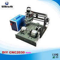 Newest Cnc Router 2030 2 In 1 4 Axis Cnc Engrave Machine Free Tax To RU