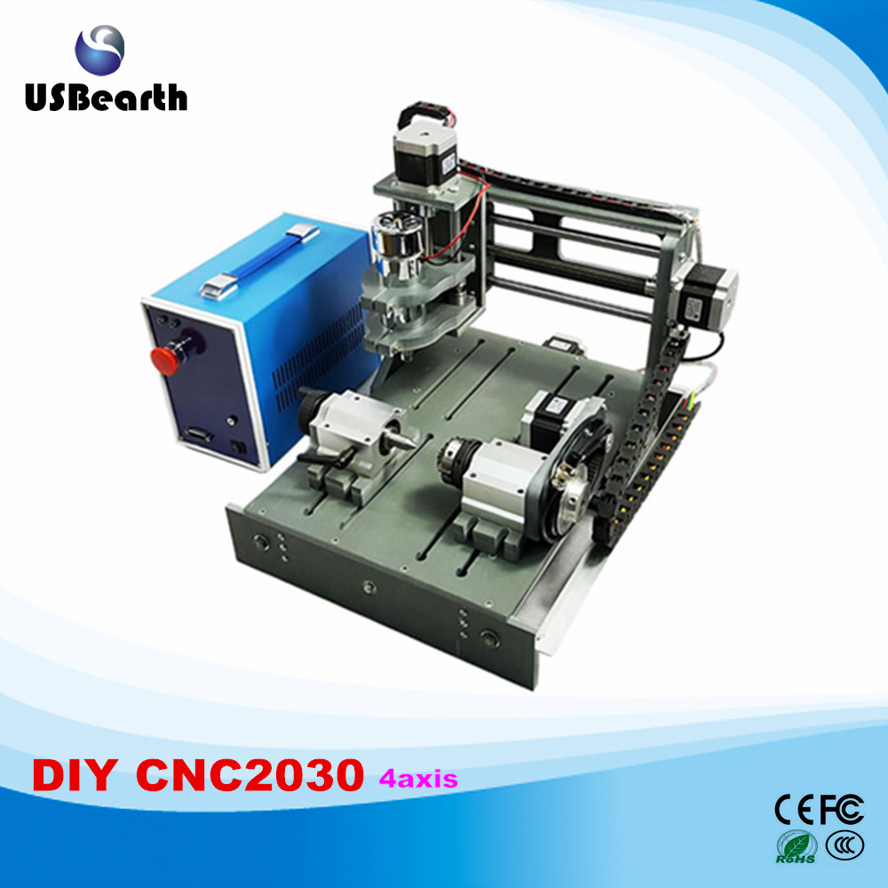Newest cnc router 2030 2 in 1 4 axis cnc engrave machine free tax to RU 2016 newest cnc router 3040z dq usb port cnc cutting machine cnc engrave machine