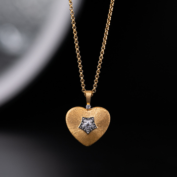925 Sterling Silver zircon Necklace Sliver 925 Jewelry For Women European Court Style vintage style